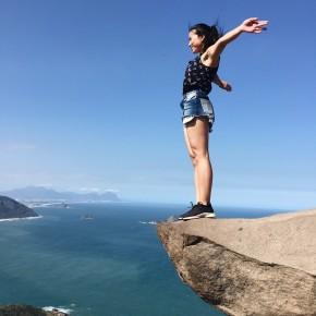〖笑到巴西〗 Pedra do Telégrafo讓你踏出勇氣