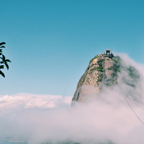 〖大笑到巴西〗站上看到全里約的麵包山 Pão de Açúcar