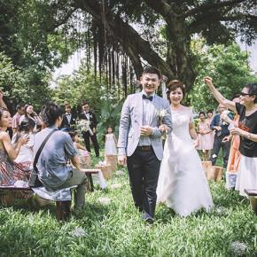〖婚禮記事〗三場不同風格儀式的獨一無二婚禮